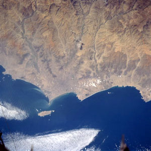 desert from space
